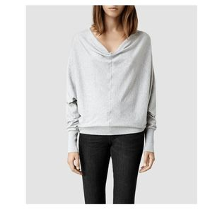 All Saints Elgar cowl neck